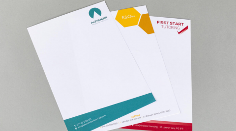 4 Ideas To Generate Professional-looking Letterhead Design ...